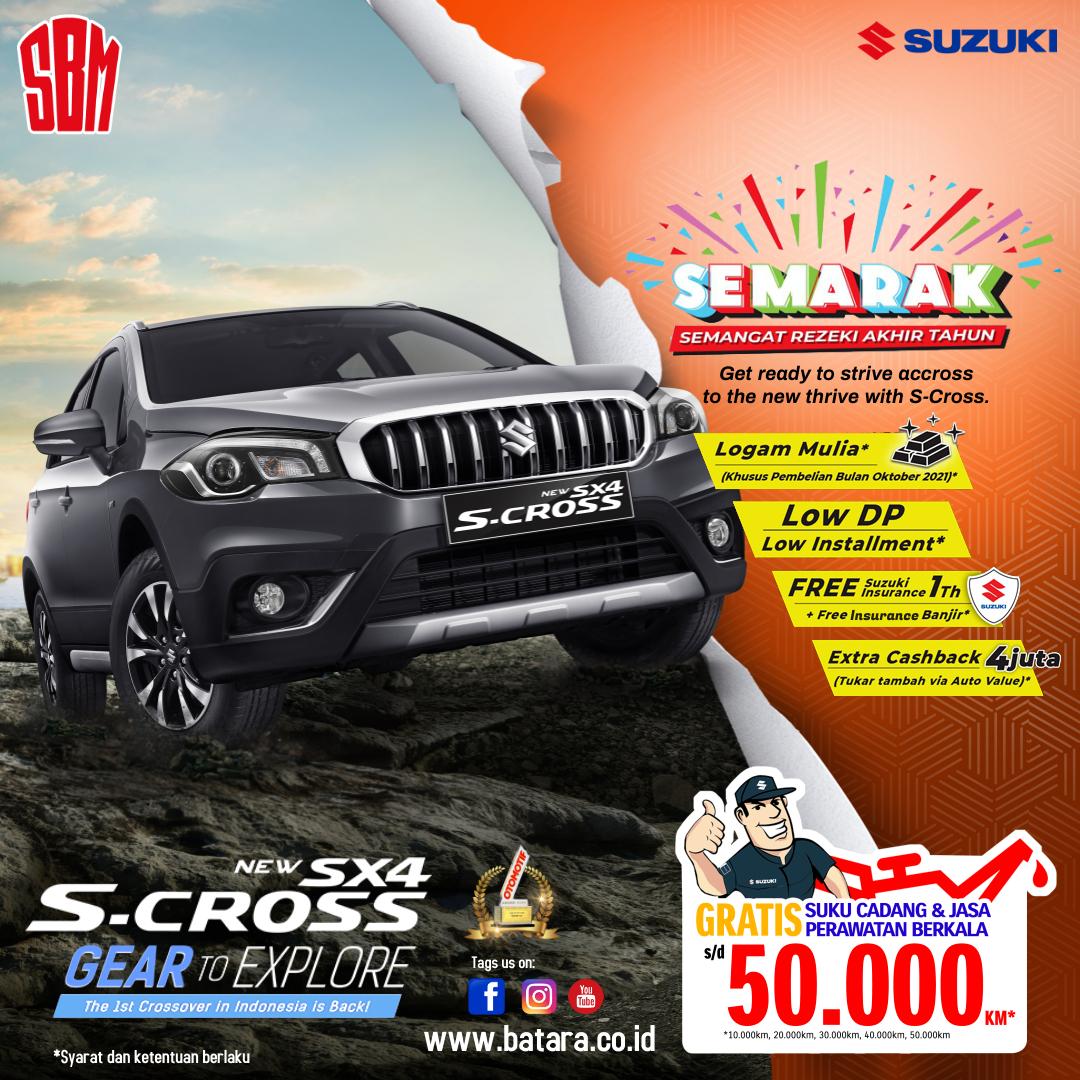 SEMARAK Suzuki SX4 S-Cross, SBM Kupang, Surya Batara Mahkota