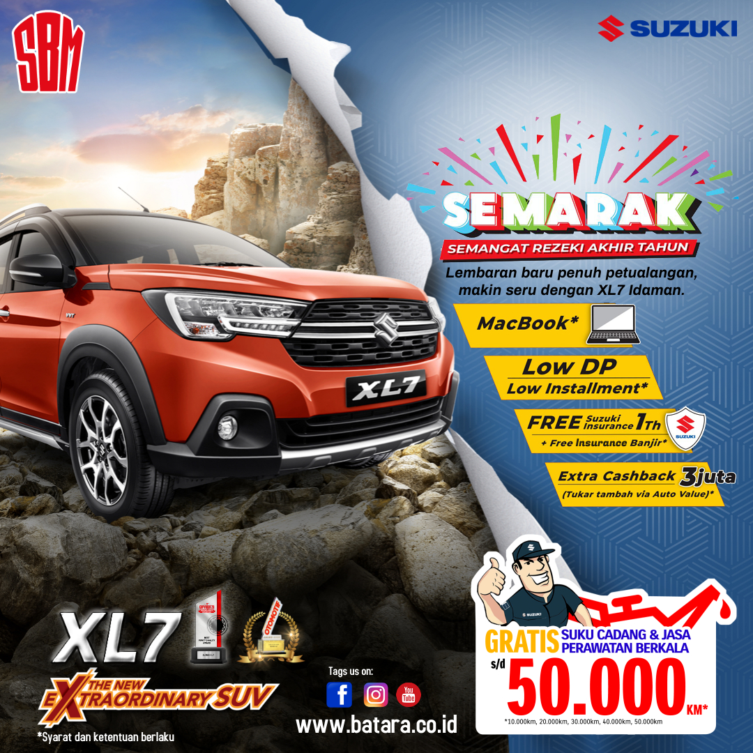 SEMARAK Suzuki XL7, SBM Kupang