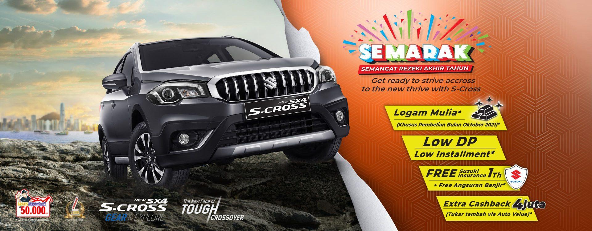 SEMARAK Suzuki SX4 S-Cross, SBM Kupang